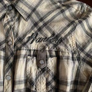Harley-Davidson Tops - Harley Davidson button down shirt